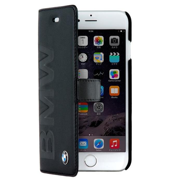BMW 本革手帳型ケース iPhone 6