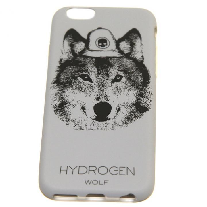 【iPhone6ケース】HYDROGEN ハードケース WOLF iPhone 6_0
