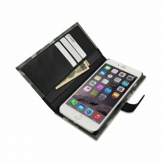 【iPhone6ケース】TUNEWEAR TUNEFOLIO PU手帳型ケース カモフラージュグレイ iPhone 6_3
