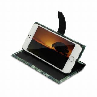 【iPhone6ケース】TUNEWEAR TUNEFOLIO PU手帳型ケース カモフラージュグレイ iPhone 6_4