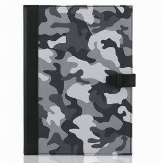 TUNEWEAR TUNEFOLIO PU手帳型ケース カモフラージュグレー iPad Air 2