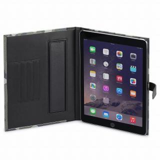 TUNEWEAR TUNEFOLIO PU手帳型ケース カモフラージュグリーン iPad Air 2_5
