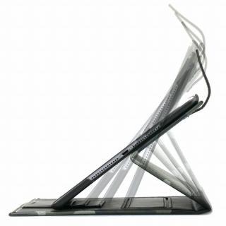TUNEWEAR TUNEFOLIO PU手帳型ケース カモフラージュグリーン iPad Air 2_7