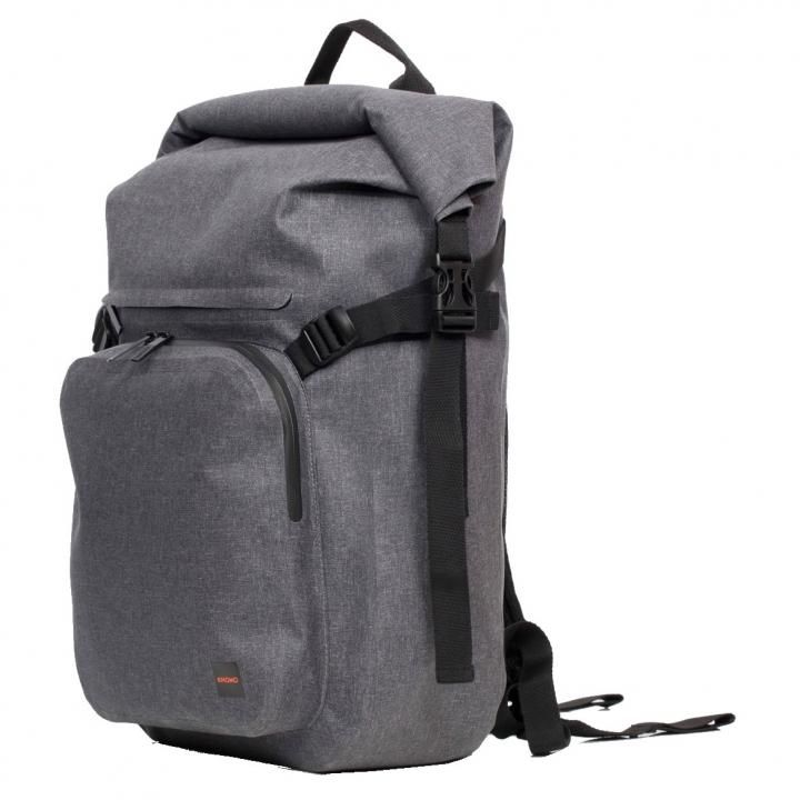 KNOMO Hamilton Backpack 15 Roll top グレイ_0