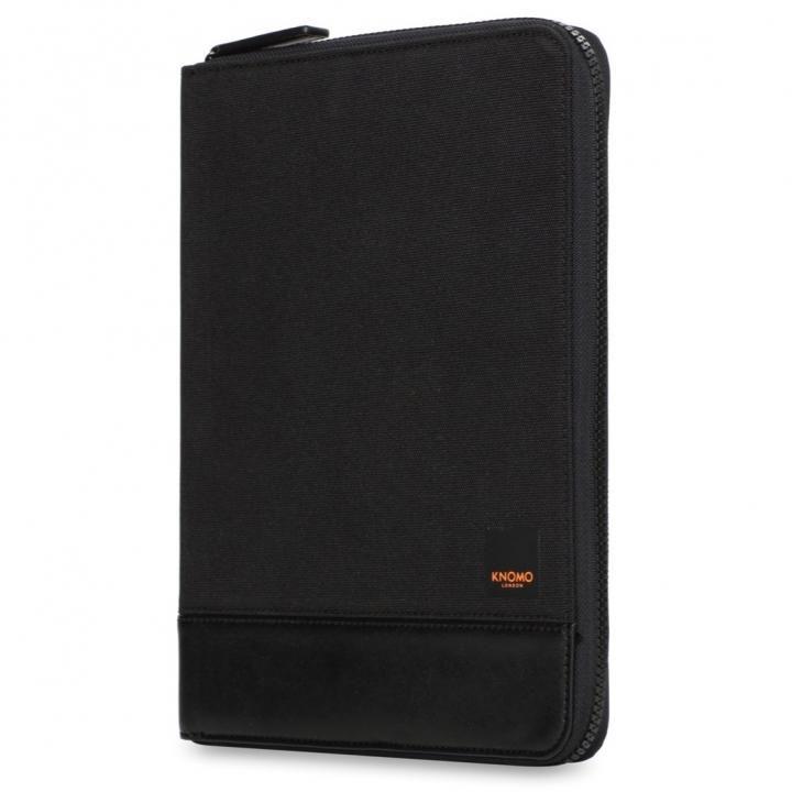 KNOMO KNOMAD Zip Folio Organizer 10 Black