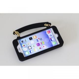 【iPhone6s/6ケース】カリフォルニア発 大人かわいいバック型ケース Pursecase ブラック iPhone 6s/6_1
