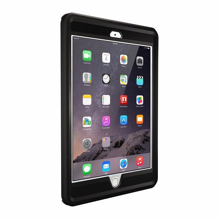 Touch ID対応 耐衝撃ケース OtterBox Defender ブラック iPad mini/2/3_0