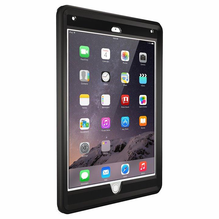 Touch ID対応 耐衝撃ケース OtterBox Defender ブラック iPad Air 2_0