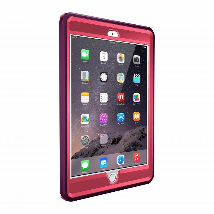 Touch ID対応 耐衝撃ケース OtterBox Defender ピンク iPad mini/2/3_0