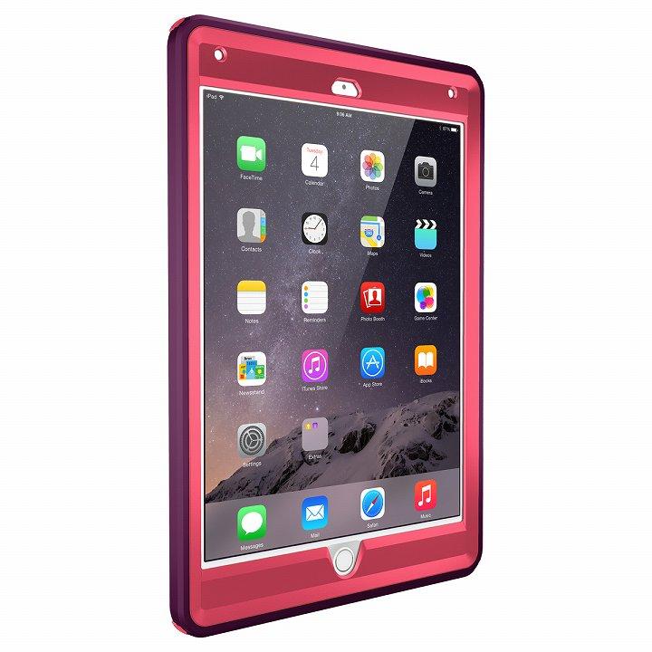 Touch ID対応 耐衝撃ケース OtterBox Defender ピンク  iPad Air 2_0