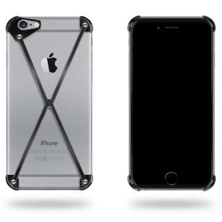 【2月上旬】端末の美しさを活かすバンパー RADIUS ブラック iPhone 6 Plus
