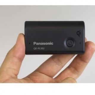 [2700mAh]パナソニック製モバイル・バッテリー 無接点充電Qi対応 ブラック_2
