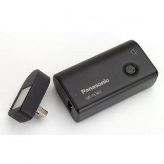 [2700mAh]パナソニック製モバイル・バッテリー 無接点充電Qi対応 ブラック_3