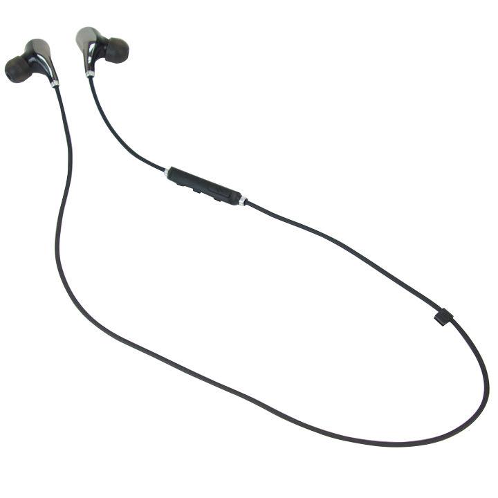 Bluetooth ワイヤレスヘッドセット BTH093 ブラック_0