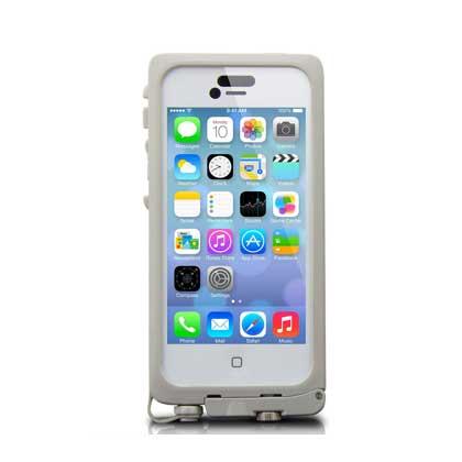 iPhone SE/5s/5 ケース aXtion Pro  iPhone SE/5s/5 防水ケース (Gray/White)_0