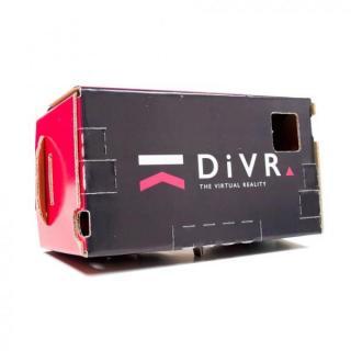 スマホで3DバーチャルVR体験 DiVR VRゴーグル ブラック3D_2