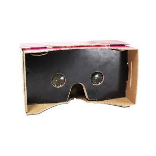スマホで3DバーチャルVR体験 DiVR VRゴーグル ブラック3D_4