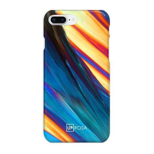 iPhone8 Plus ケース UPROSA 背面ケース Blue & Gold iPhone 8 Plus_0