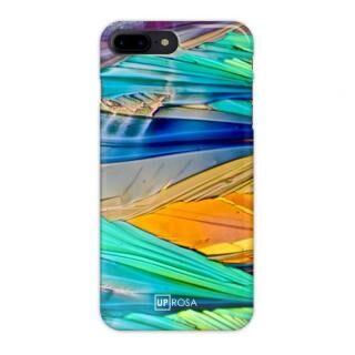 iPhone8 Plus ケース UPROSA 背面ケース Acid Rainbow iPhone 8 Plus