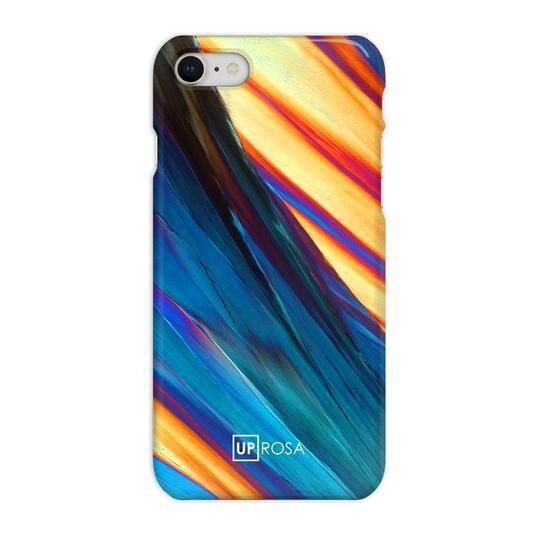iPhone8 ケース UPROSA 背面ケース Blue & Gold iPhone 8_0