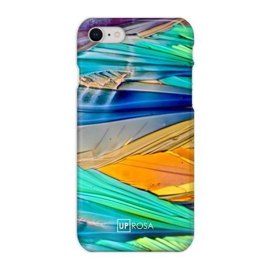 iPhone8 ケース UPROSA 背面ケース Acid Rainbow iPhone 8_0