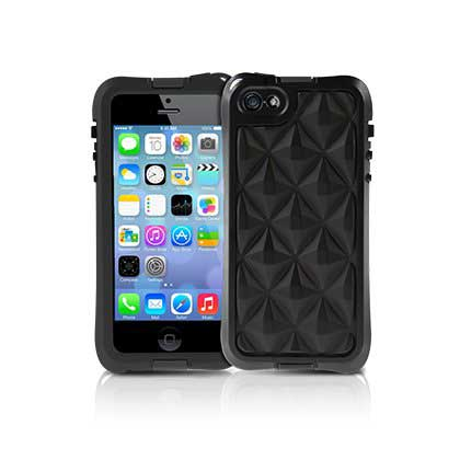 【iPhone SE/5s/5ケース】aXtion Go  iPhone SE/5s/5 (Black)_0