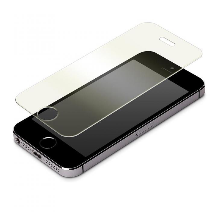 iPhone SE/5s/5 フィルム iPhone SE/5s/5c/5専用 液晶保護強化ガラス ブルーライト低減_0