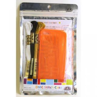【iPhone5s ケース】刺しゅうができるステッチケース Orange iPhone SE/5s/5ケース
