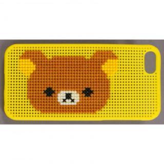 刺しゅうができるステッチケース iPhone SE/5s/5 リラックマ Yellow