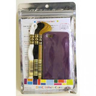 【iPhone SE/5s/5ケース】刺しゅうができるステッチケース Violet iPhone SE/5s/5ケース