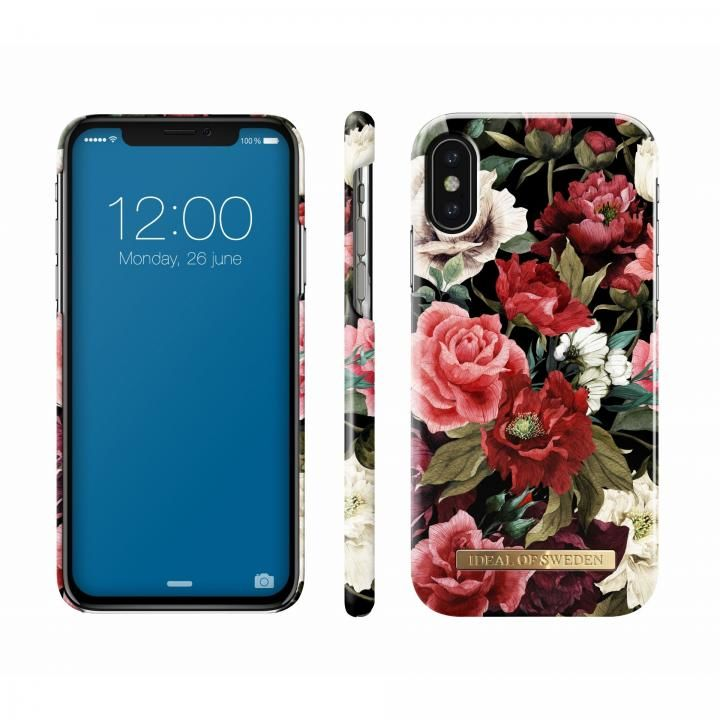【iPhone Xケース】iDeal of Sweden ケース Antique Roses iPhone X【11月下旬】_0