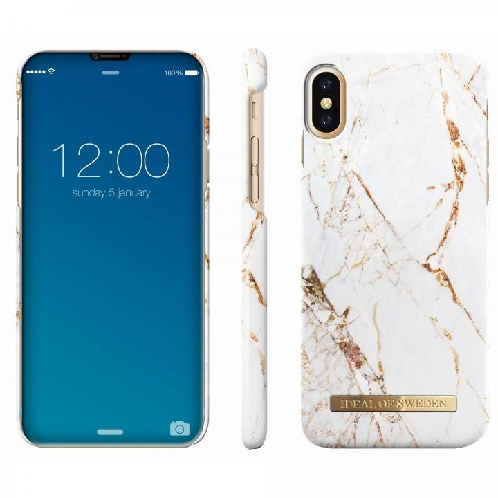 iPhone X ケース iDeal of Sweden ケース Carrara Gold iPhone X【9月下旬】_0