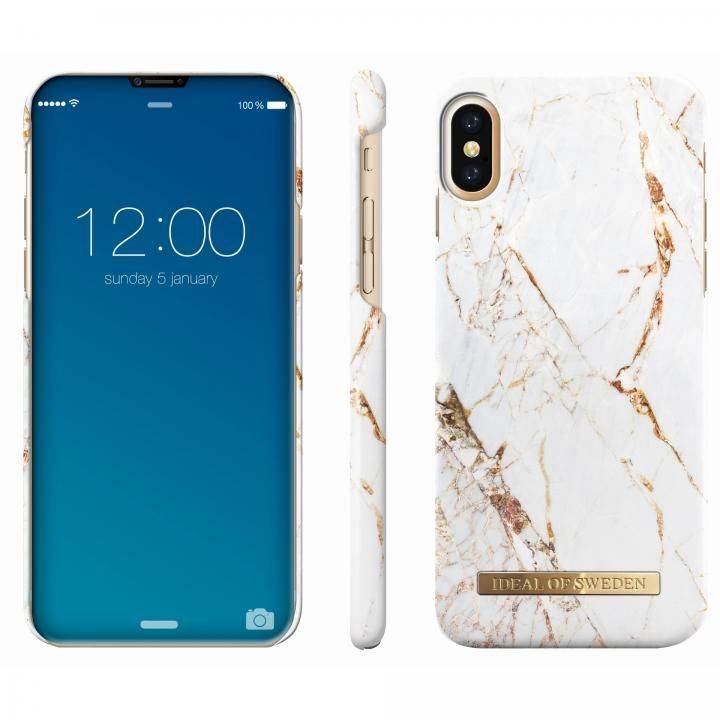 iPhone X ケース iDeal of Sweden ケース Carrara Gold iPhone X_0