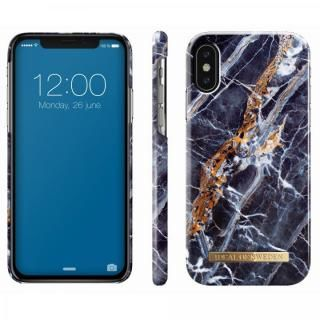 iPhone X ケース iDeal of Sweden ケース Midnight Blue Marble iPhone X