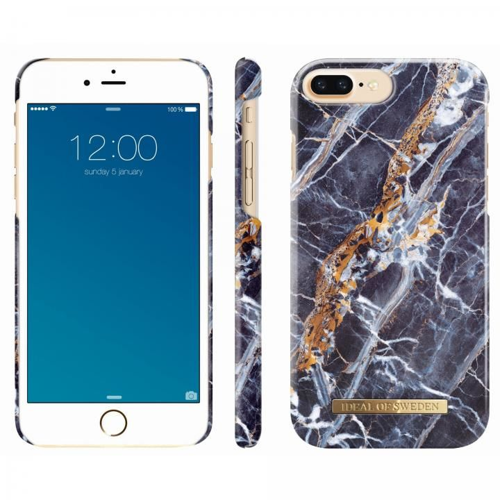 iDEAL OF SWEDEN ケース Midnight Blue Marble iPhone 8 Plus/7 Plus/6s Plus/6 Plus