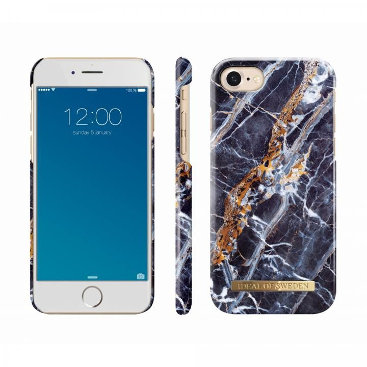 【iPhone8/7/6s/6ケース】iDeal of Sweden ケース Midnight Blue Marble iPhone 8/7/6s/6_0