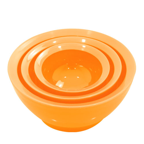 こぼれないお椀 calibowl Mixing Bowl Set Orange_0