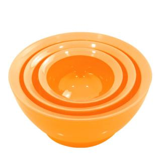 こぼれないお椀 calibowl Mixing Bowl Set Orange