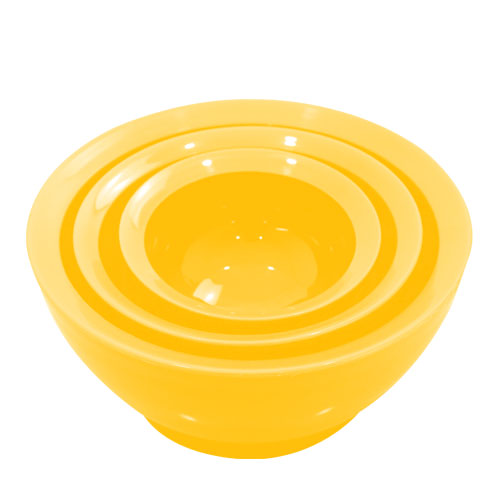 こぼれないお椀 calibowl Mixing Bowl Set Yellow