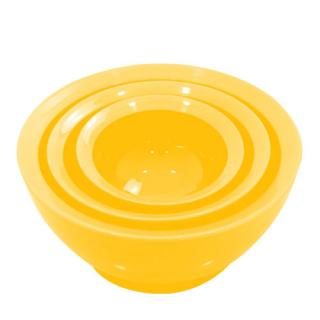 こぼれないお椀 calibowl Mixing Bowl Set Yellow