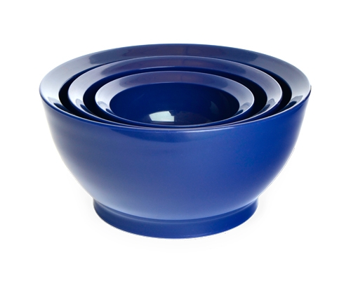 こぼれないお椀 calibowl Mixing Bowl Set Blue_0