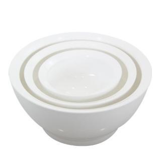 こぼれないお椀 calibowl Mixing Bowl Set White