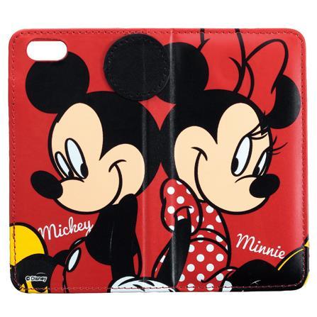 【iPhone6】ディズニー 手帳型ケース ミッキーミニー iPhone 6_0