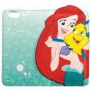 ディズニー 手帳型ケース アリエル iPhone 6