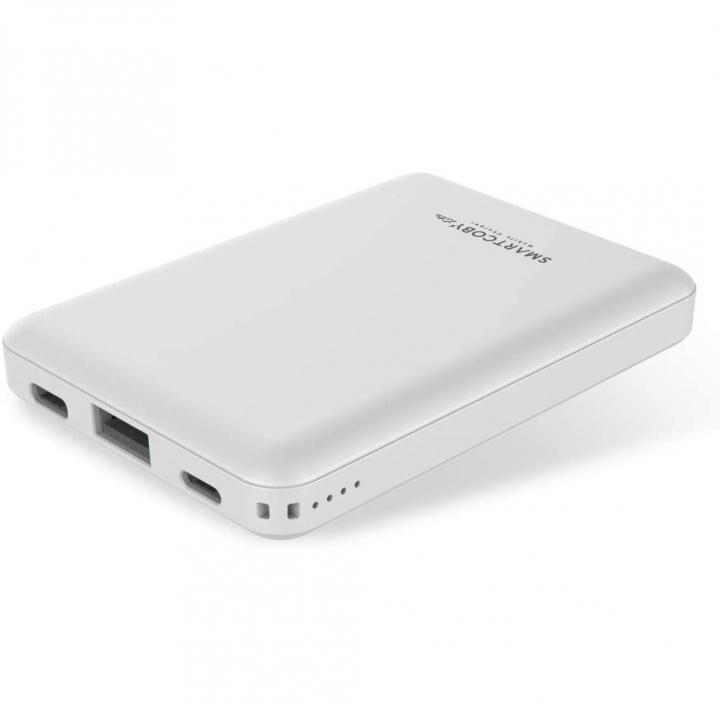 モバイルバッテリー 8000mAh SMARTCOBY Lite ホワイト_0