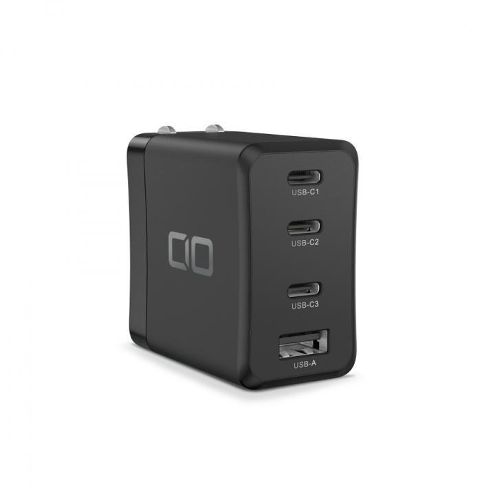 LilNob LilNobShare GaN 65W充電アダプター(3USB-C&1USB-A) ブラック_0