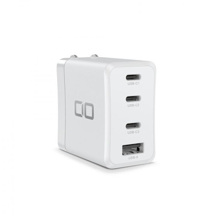 LilNob LilNobShare GaN 65W充電アダプター(3USB-C&1USB-A) ホワイト_0