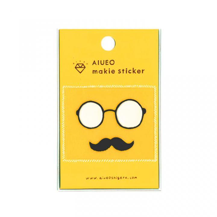 蒔絵シール makie sticker detective WH_0