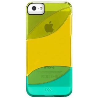 iPhone SE/5s/5 カラウェイズ ケース グリーン/イエロー/ターコイ