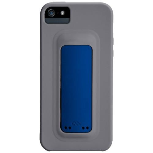 Case-Mate iPhone 5 Snap Case, Titanium Grey/Marine Blue